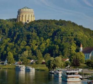 Посещение Befreiungshalle и монастыря Weltenburg в Kelheim