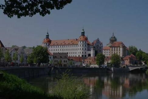 Замок в Neuburg